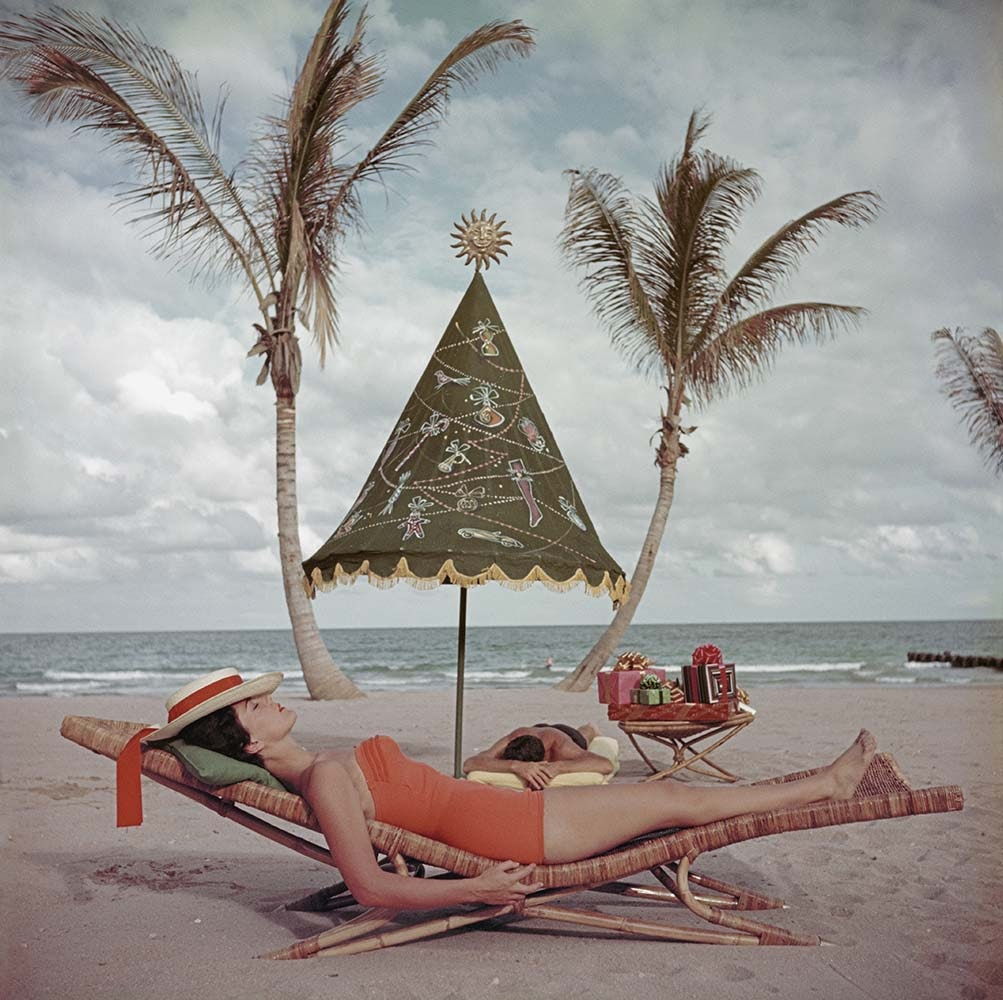 Slim Aarons Palm Beach Idyll, Florida 1955