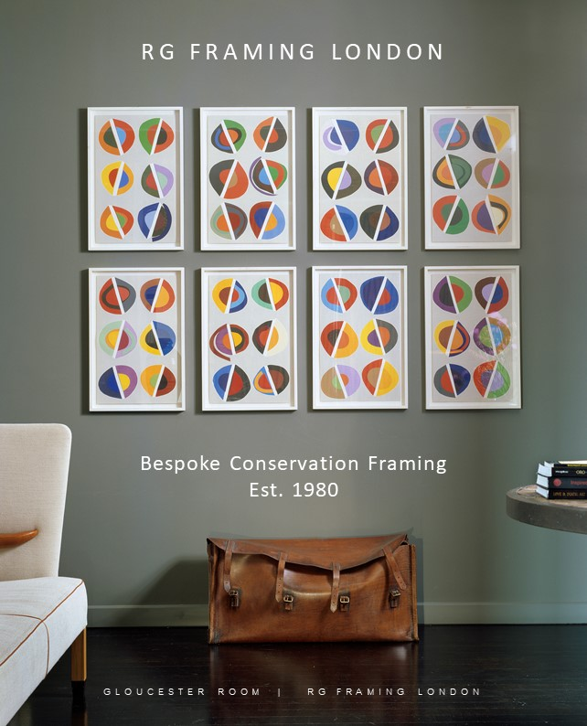 RG Framing London - digital catalogue